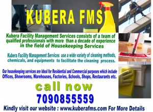 Kuberafms Housekeeping Services in Bangalore