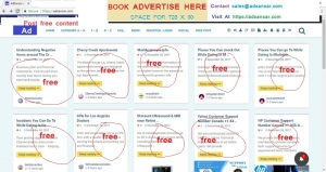 post free advertise in india adsanar.com