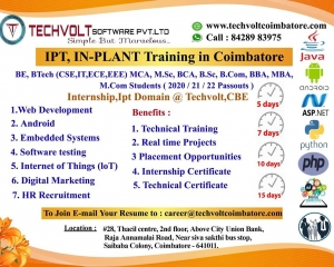 Summer internship in Coimbatore