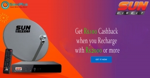 Get Rs.100 Cashback when you Recharge with Rs.2000 or more
