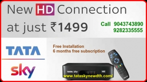 Buy Tata Sky New Connection | 9043743890