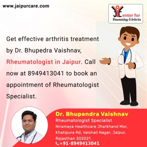 Get arthritis treatment with rheumatologist in Jaipur