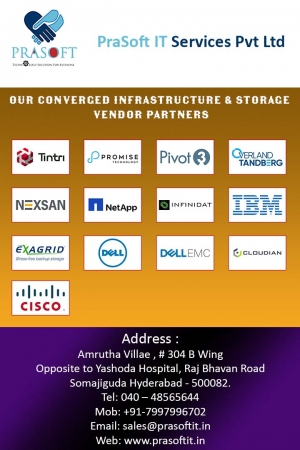 Our Converged Infrastructure & Storage vendor partners