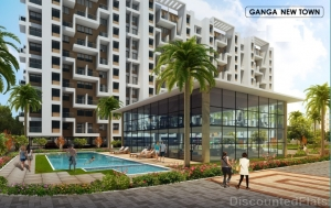 Lavish 2.5 BHK Apartments in Dhanori at Ganga New Town Pune