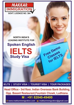 Makkar immigration For IELTS,study VIsa,Tour Packages