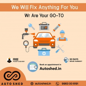 Car and Bike Repair Service Center in Hitech City, Hyderabad