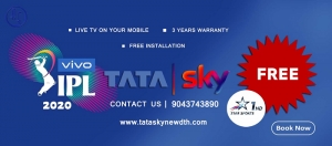 Tata Sky  Set-Top-Box Connection | 9043743890
