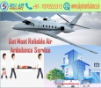 Pick the ICU Configured Air Ambulance Service in Indore