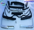 Mercedes W107 stainless steel bumpers