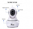 360 Auto-Rotating Wireless CCTV Camera