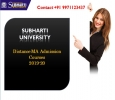 Subharti University: Distance MA Admission Courses