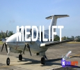 Quick and Best Air Ambulance Service in Jabalpur by Medilift