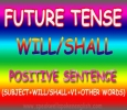 Will/Shall Positive sentence in Simple future tense |Top spo