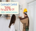 Complete Eco-friendly Cockroach Control Service in Whitefiel