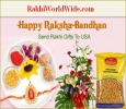 Sweeten the Brother-Sister bond with Rakhi N Sweets Delivery