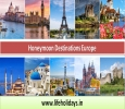 Book Honeymoon Destinations Europe from Life Holidays