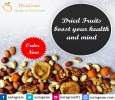 Dried fruits boost your health and mind