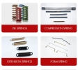 Compression Springs - Torsion Springs, Form Springs, Wire Be