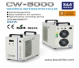 S&A air cooled chiller CW-5000 for chemical and laboratory