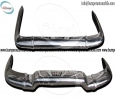 Renault Caravelle bumper (1958-1968) stainless steel