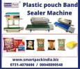 Band Sealer Machine for plastic pouch packinng in jalgaon