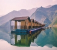 Tehri Lake Floating Huts / Houseboat Booking 2020