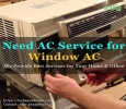 Professional Windows AC repair in Bangalore