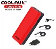COOLNUT 10000mAh Mobile Power Bank, India (Red/Black)