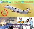 Low Fare Charter Air Ambulance Service in Gaya by Sky