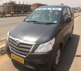 Book Innova cab/taxi for Outstation Trip Per KM rate