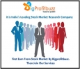 Get Share Market Tips with 95% Sure profit from Bigprofitbuz