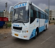 45 Seater Bus hire or rent for 37rs per KM with driver in Ma