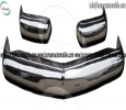 Mercedes Pagode W113 bumper (1963-1971) stainless steel