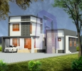 3 Bedroom House Plans Kerala Model, Call: +91 7975587298, ww