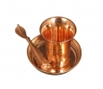 Nutristar Pure Copper Puja Set. Panchpater Set