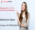 Distance BCA - IT/ CS - Lateral Enry Admission