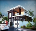 Remarkable 3D Bungalow Elevation Designing From One Of The l