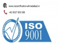Get ISO 9001 certification in ahmedabad