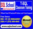 Real Time SQL Server Microsoft classroom trainings