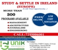 STUDY IN IRELAND-UNIK GLOBAL SERVICES