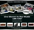 LIVE STREAM TO THE WORLD  WITH IVB7