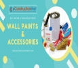 Buy Wall Paints, Putties, Primers, Distemper from eConstruct