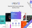 Upbeat Responsive Multi-Purpose Landing Page WordPress Theme