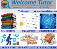 Welcome Tutor- Find best Tutors/Tutoring Job Globally