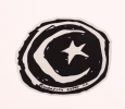 Custom Circle Stickers | Foundation Skateboards Logo Sticker