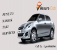 Best Pune to Nashik One Way Taxi Service