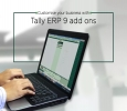 Customise your business with Tally ERP 9 add ons