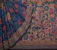 Trendy hand painted handloom kalamkari sarees collection @ s