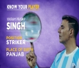 Vikram Pratap Singh Striker from Punjab