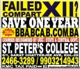Failed / Compart XII?  Save One Year